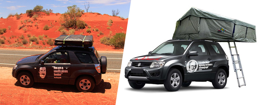 campervan hire Alice Springs